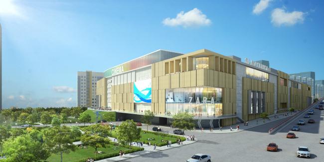 Многофункциональный комплекс «Славянка». Проект © «АСП» совместно с ТПС «Недвижимость»