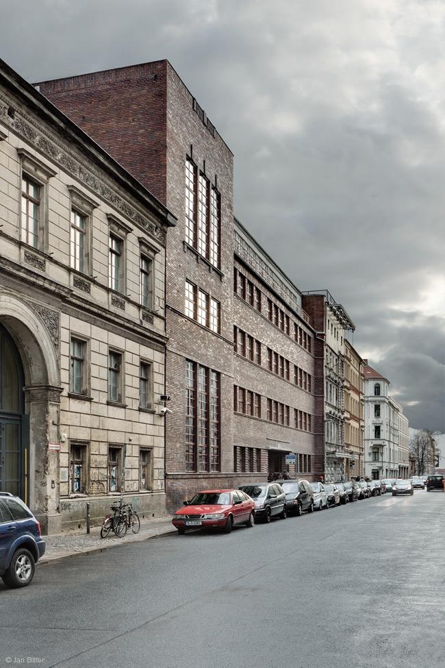 Бывшая еврейская школа для девочек - реконструкция © Jan Bitter. Предоставлено Grüntuch Ernst Architekten