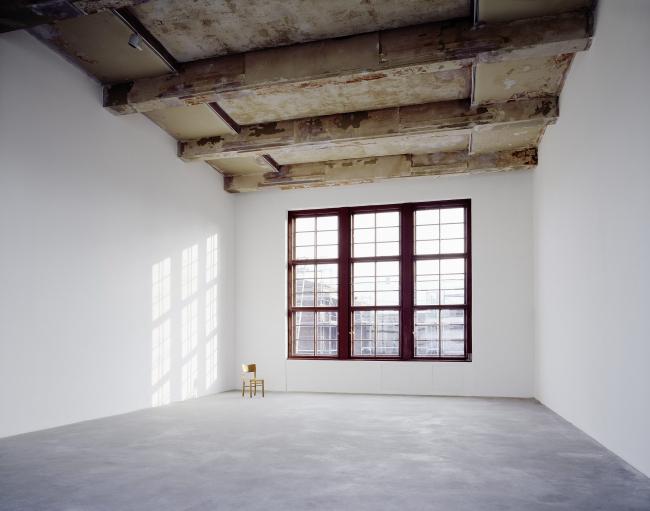 Бывшая еврейская школа для девочек - реконструкция. Michael Fuchs Galerie © Stefan Korte. Предоставлено Ehemalige Jüdische Mädchenschule