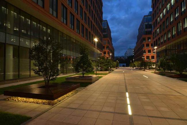 Бизнес-центр класса А «Алкон» на Ленинградском проспекте. Реализация, 2013 © ADM