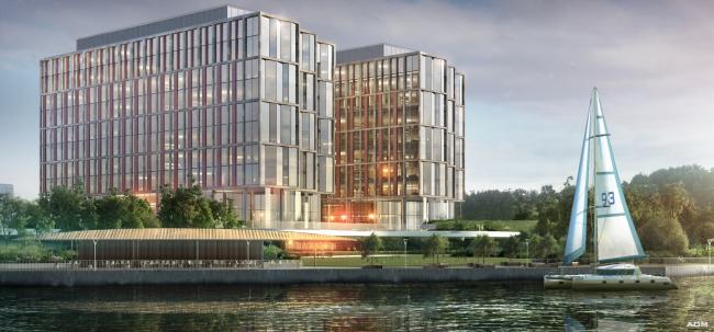 Многофункциональный офисно-деловой комплекс на Ленинградском шоссе