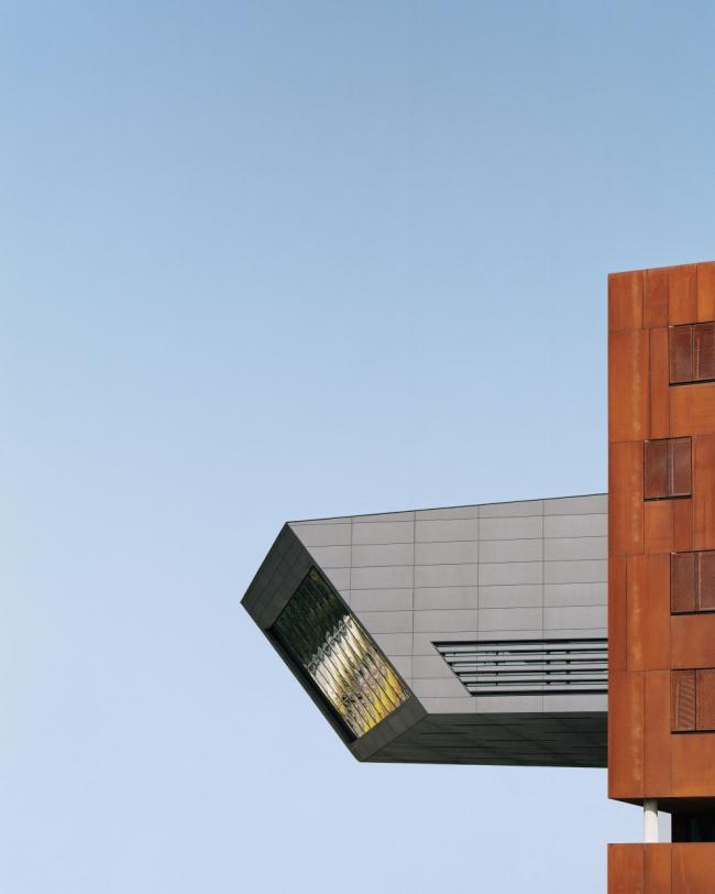 Библиотека и центр знаний Венского экономического университета. Фото: Rasmus Norlander © Rieder