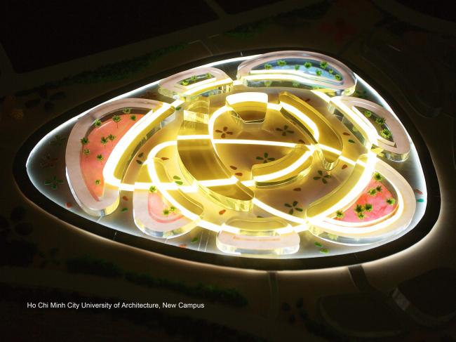 Проект кампуса университета архитектуры в Хошимине во Вьетнаме – «серебро» Всемирного этапа конкурса Holcim Awards 2012. Иллюстрация предоставлена Holcim Foundation for Sustainable Construction