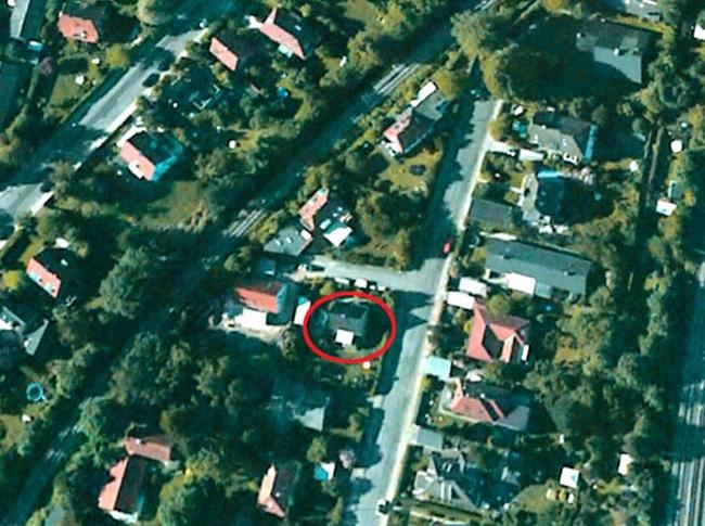 Дом в пригороде Копенгагена. Съемка со спутника. Фото с сайта www.velux.com