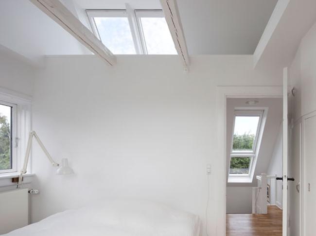 Спальня. Фото с сайта www.velux.com