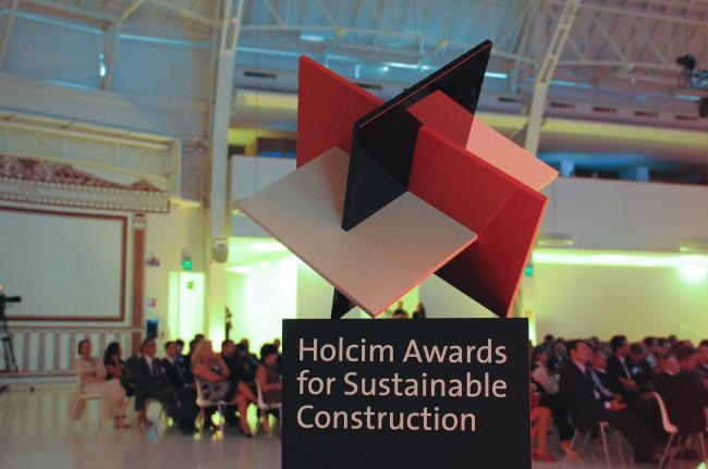 Церемония награждения Holcim Awards 2012. Иллюстрация предоставлена Holcim Foundation for Sustainable Construction
