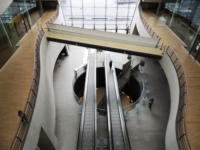«Черный Алмаз» - новый корпус Королевской библиотеки Дании. Фото © Елизавета Клепанова