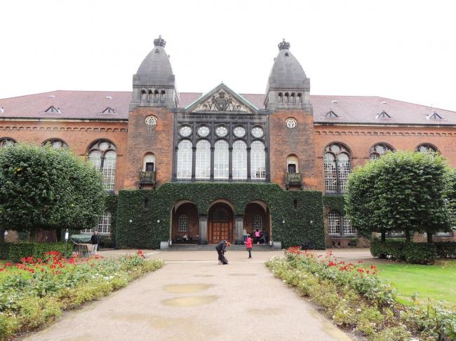 Старый корпус Королевской библиотеки Дании. Фото © Елизавета Клепанова