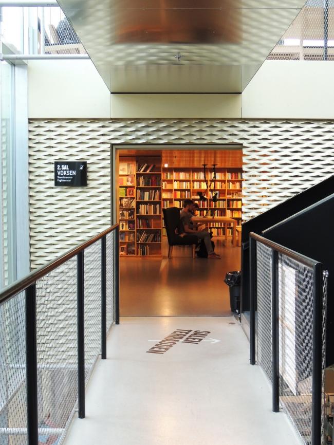 Библиотека Biblioteket. Фото © Елизавета Клепанова