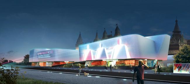 Международный многофункциональный деловой комплекс ремесел Арт-Палас. Проект-победитель. Totement/Paper.