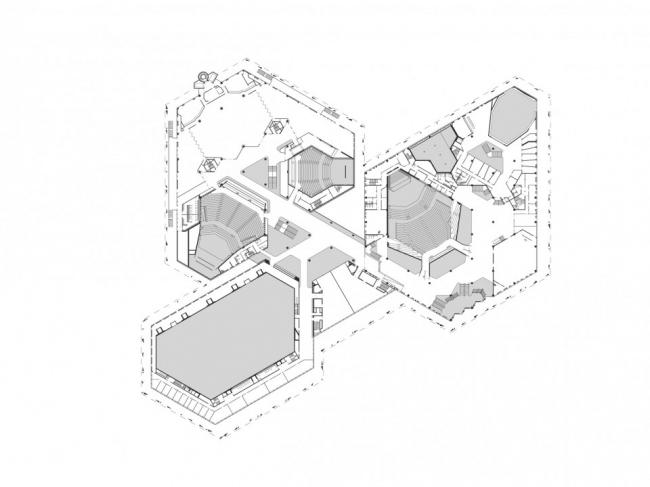 Дворец музыки и конгрессов - реконструкция © Dietrich | Untertrifaller Architekten