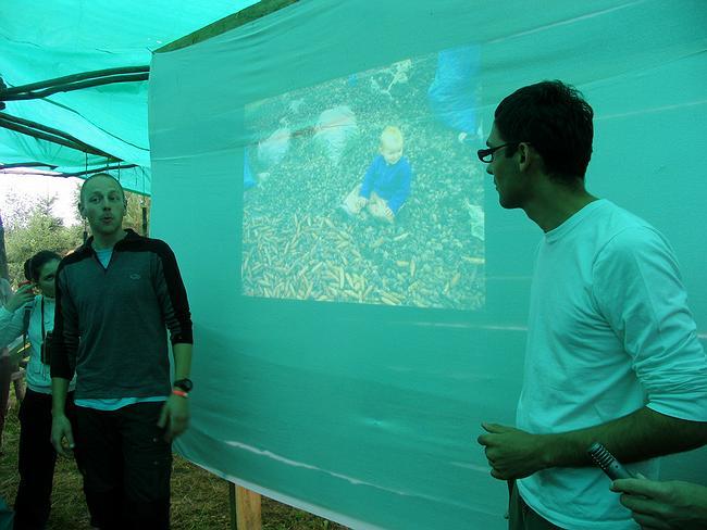 Презентация проекта West 8 (слева)- Vacation of the place. Фотография Ирины Фильченковой