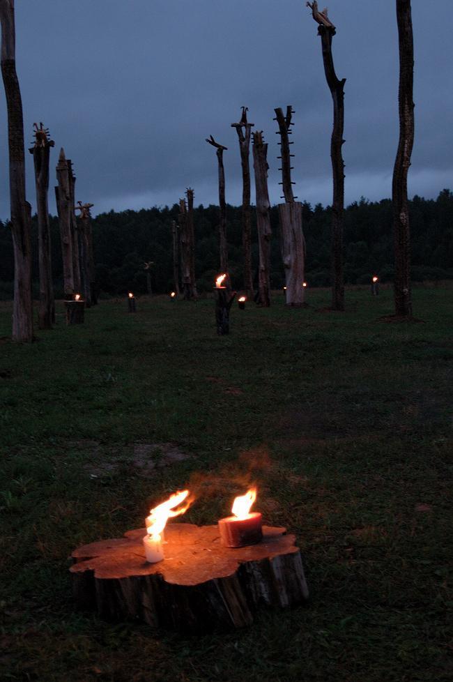 Арх-Стояние-2007. Николай Полисский. «Граница империи». 2007 г. Фотография Елены Петуховой