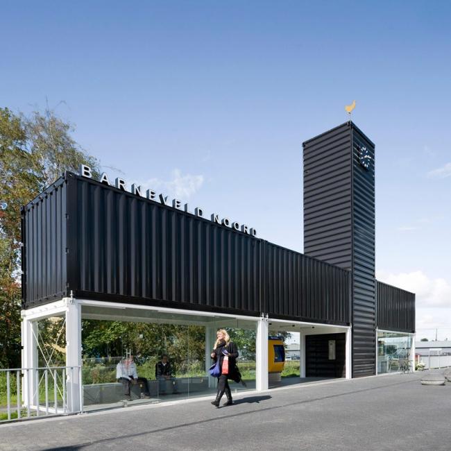 Железнодорожная станция Барневелд-Норд © Marcel van der Burg