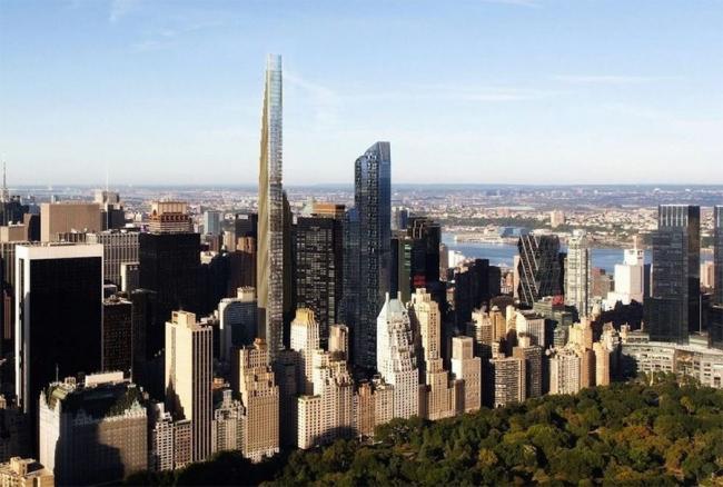 Башня 111 West 57th Street © SHoP Architects