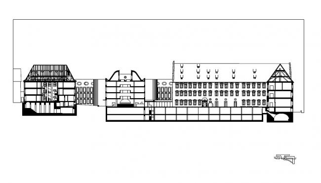 Комплекс епархиальных курии и архива © LRO