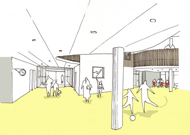 Международная школа Икаст-Бранне © C. F. Møller