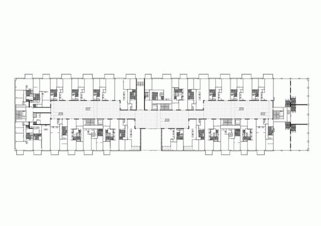 Жилой комплекс «Паркранд». План первого этажа