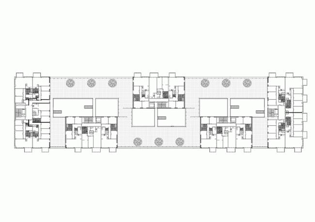 Жилой комплекс «Паркранд». План второго этажа