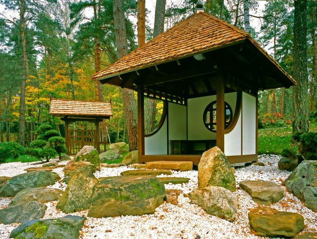 Московская область. Горки 2. Японский сад © Arteza