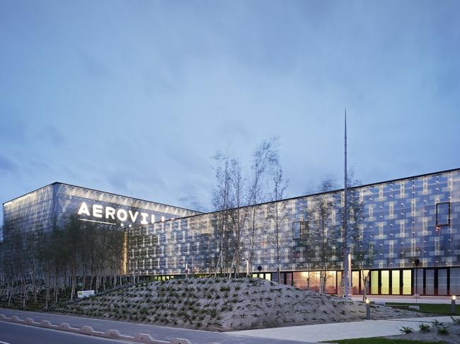 Комплекс Aeroville © Jean-Phileppe Mesguen