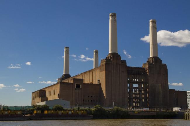 Электростанция Бэттерси. Фото: Alberto Pascual via Wikimedia Commons