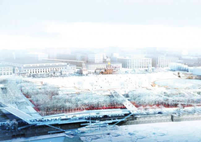 Проект Turenscape. Иллюстрации предоставлены Институтом медиа, архитектуры и дизайна «Стрелка»