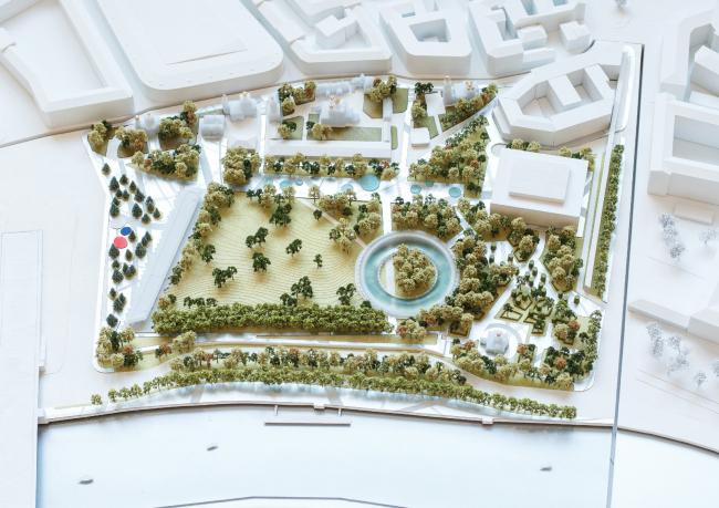 Проект West 8 + Bernaskoni. Иллюстрации предоставлены Институтом медиа, архитектуры и дизайна «Стрелка»