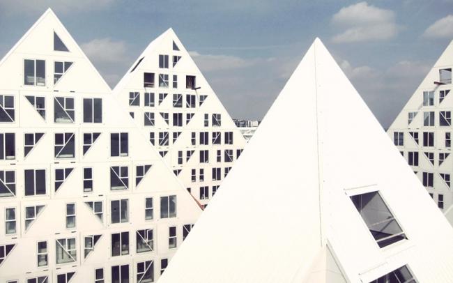 Жилой комплекс «Айсберг». Фото с сайта designboom.com