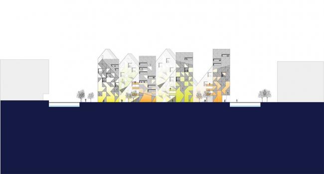 Жилой комплекс «Айсберг». Изображение с сайта archilovers.com