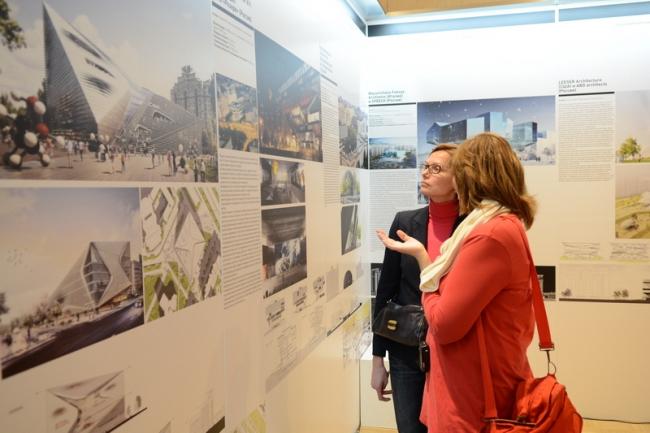 Выставка «Открытый город». Фотография предоставлена Москомархитектуры