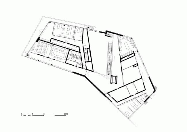Исследовательский и посетительский центр Paläon © Holzer Kobler Architekturen
