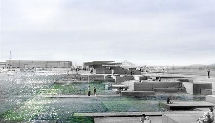 Пейрао XXI – план района. «Водный сад»