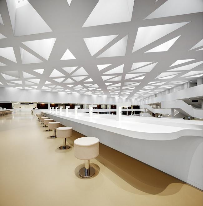 Образовательный центр госпиталя Университета Эразма © Bart Gosselin