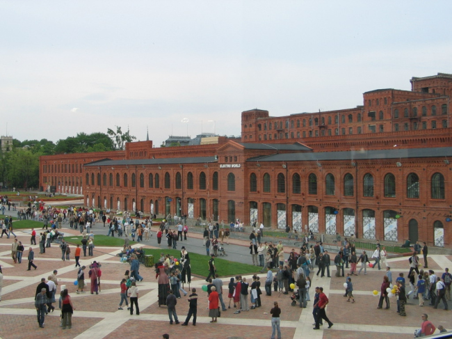 Центр Manufactura. Фото: HuBar via Wikimedia Commons