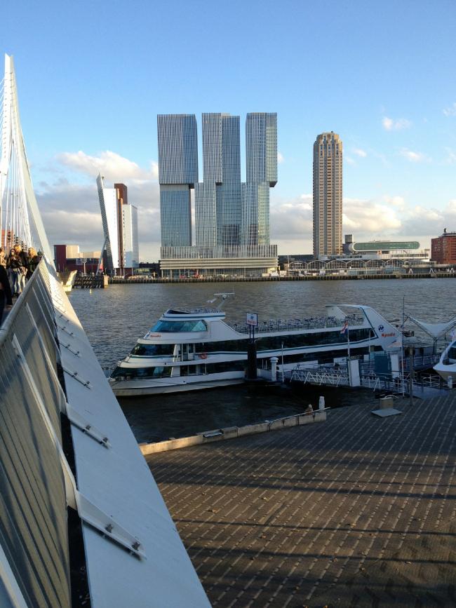 Комплекс De Rotterdam © Charlie Koolhaas