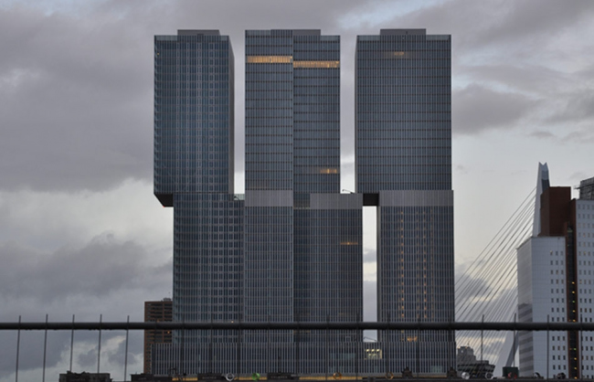 Комплекс De Rotterdam © Michel van de Kar