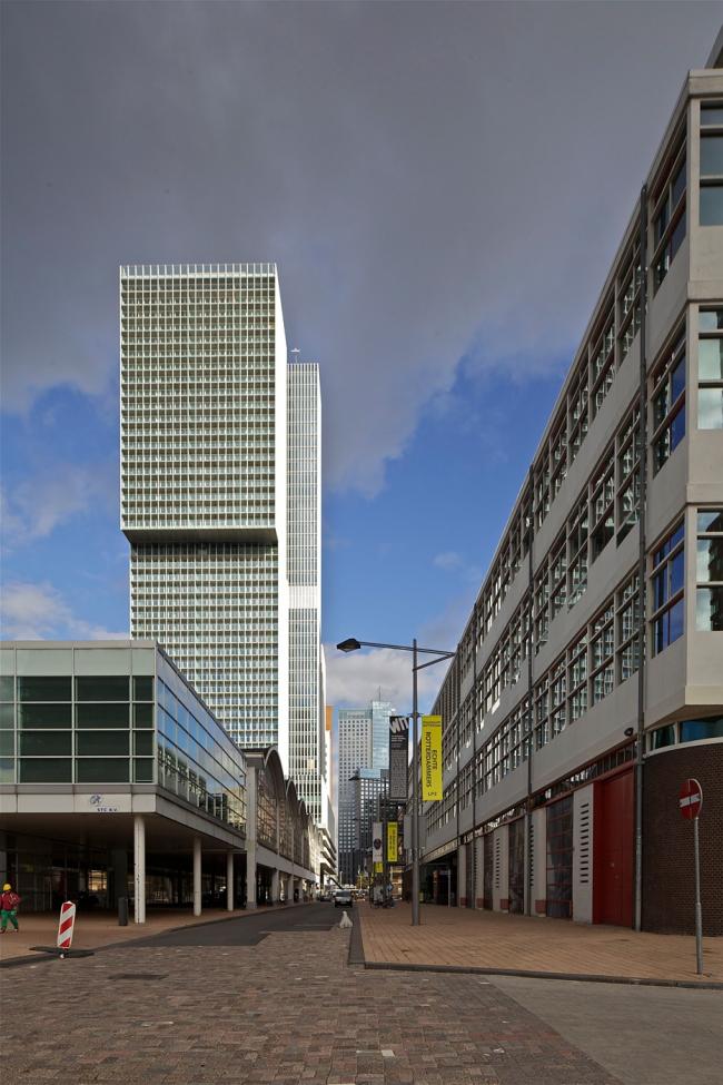 Комплекс De Rotterdam © Philippe Ruault