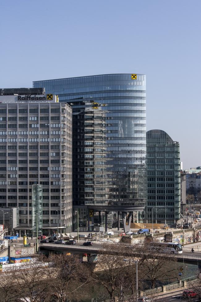 Башня RHW.2. Фото: Manfred Burger © ARGE Atelier Hayde/ Maurer & Partner ZT GmbH
