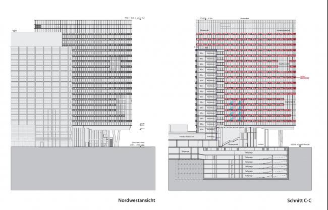 Башня RHW.2 © ARGE Atelier Hayde/ Maurer & Partner ZT GmbH