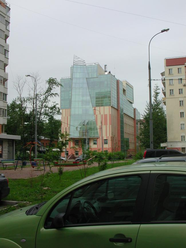 Гостинично-офисный центр в Москве © ПТАМ Виссарионова