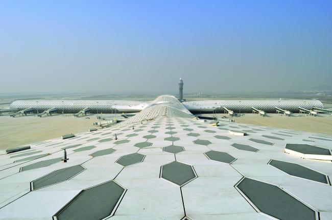 Международный аэропорт Шэньчжэнь Баоань – Терминал 3 © Studio Fuksas