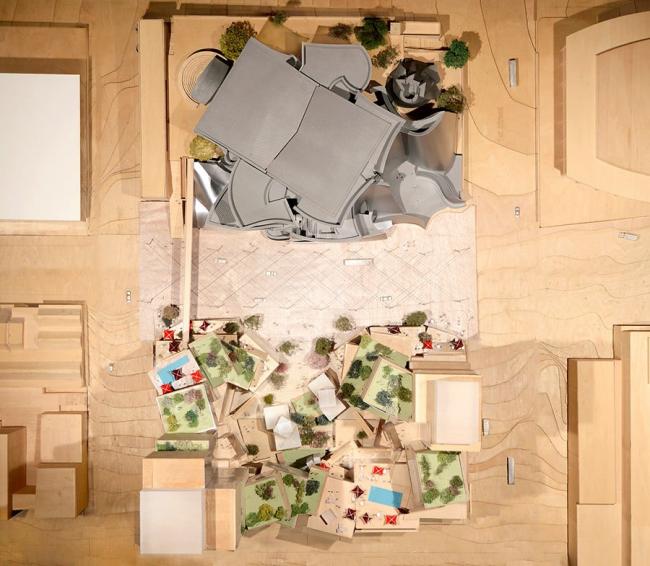 Гранд-авеню © Gehry Partners, LLP / Related Companies