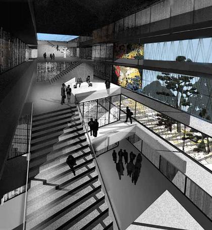 Дворец Виктории - проект реконструкции