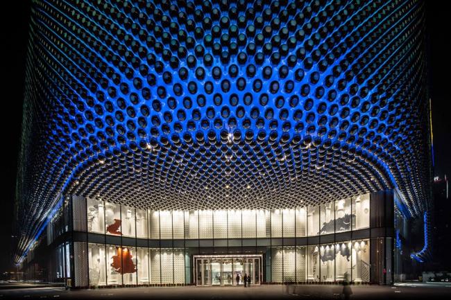 Торговый комплекс Hanjie Wanda Square © Edmon Leong