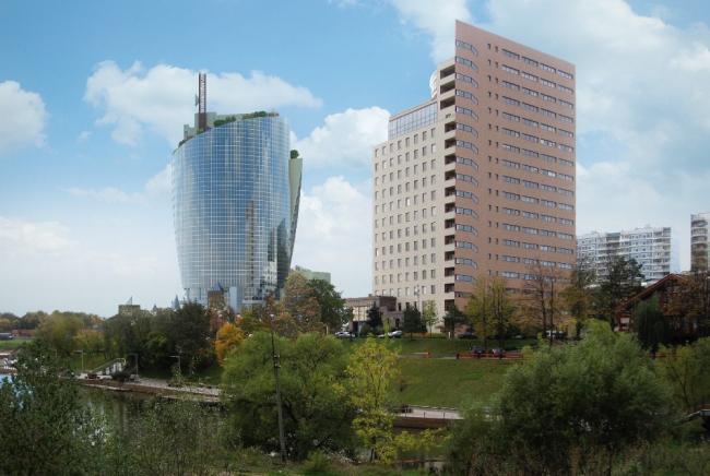 Административно-офисный комплекс «Кантри Парк». Изображение с сайта logvinov.info