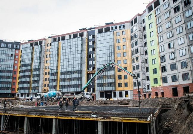 ЖК «Самое сердце», в процессе строительства. Фотография с сайта o2.ru