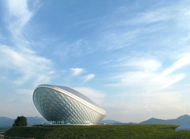 Павильон ARC © Asymptote Architecture
