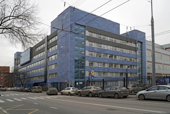 Офисный центр «Лефорт». Фотография предоставлена компанией «ОртОст-Фасад»