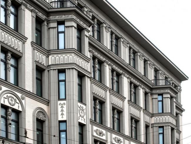 Жилой дом на Малой Никитской, д. 15. Фотография с сайта ortost.ru
